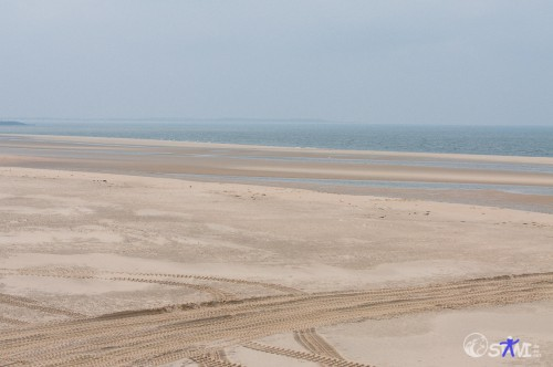 Nur Sand und Wasser!