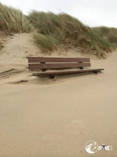 Ganz schön viel Sand.